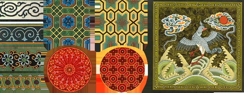 Декор интерьера образец орнамента